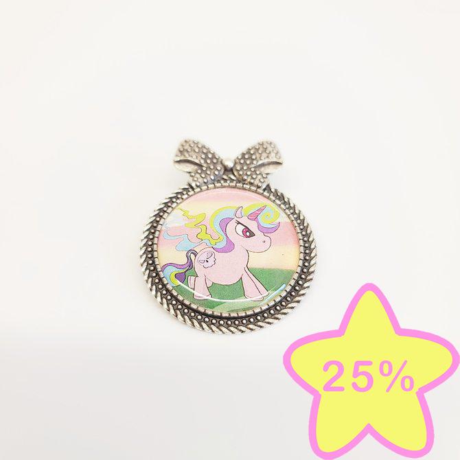 La Licornerie Angry Unicorn Brooch