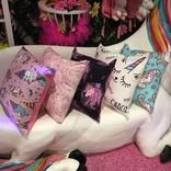 La Licornerie ♥♥ Unicornesque Pillow Made in Quebec