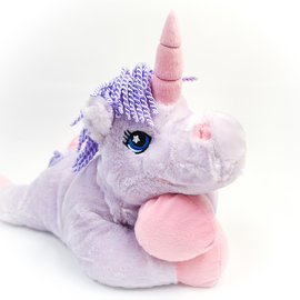 La Licornerie Stuffed Unicorn that becomes a pillow