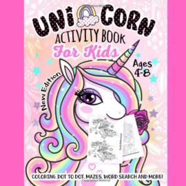 La Licornerie Unicorn Activity Book