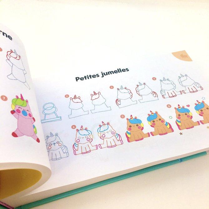 La Licornerie Drawing Book: 365 dessins de licornes et compagnie