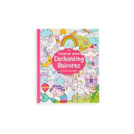 La Licornerie Livre à colorier 31 pages Enchanting Unicorns