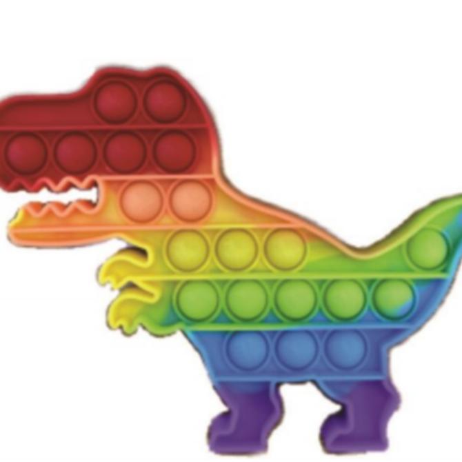 La Licornerie Fidget anti-stress bulles Licorne ou Dinosaure