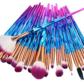 La Licornerie Ensemble de 20 pinceaux à maquillage