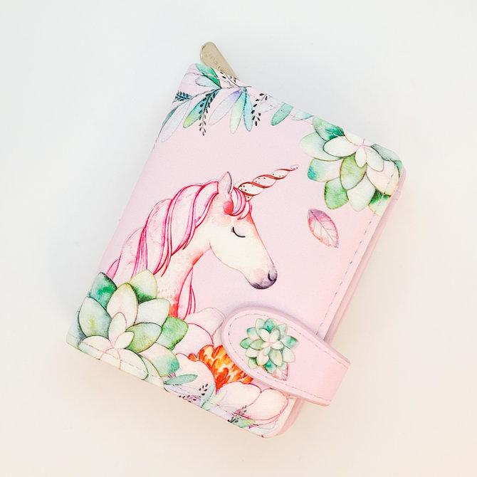 La Licornerie Unicorn Leather Wallet