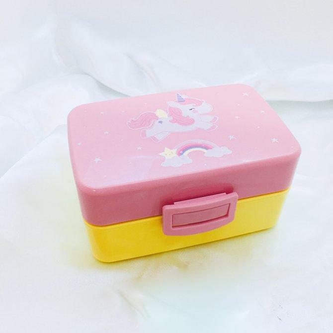 La Licornerie Pink unicorn lunchbox