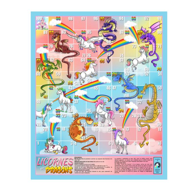 La Licornerie Jeu et cadre Licornes et Dragons