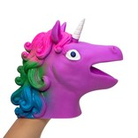 La Licornerie Unicorn head puppet