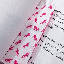 La Licornerie ♥♥ Fabric bookmark