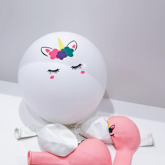 La Licornerie Set of 10 unicorn balloons