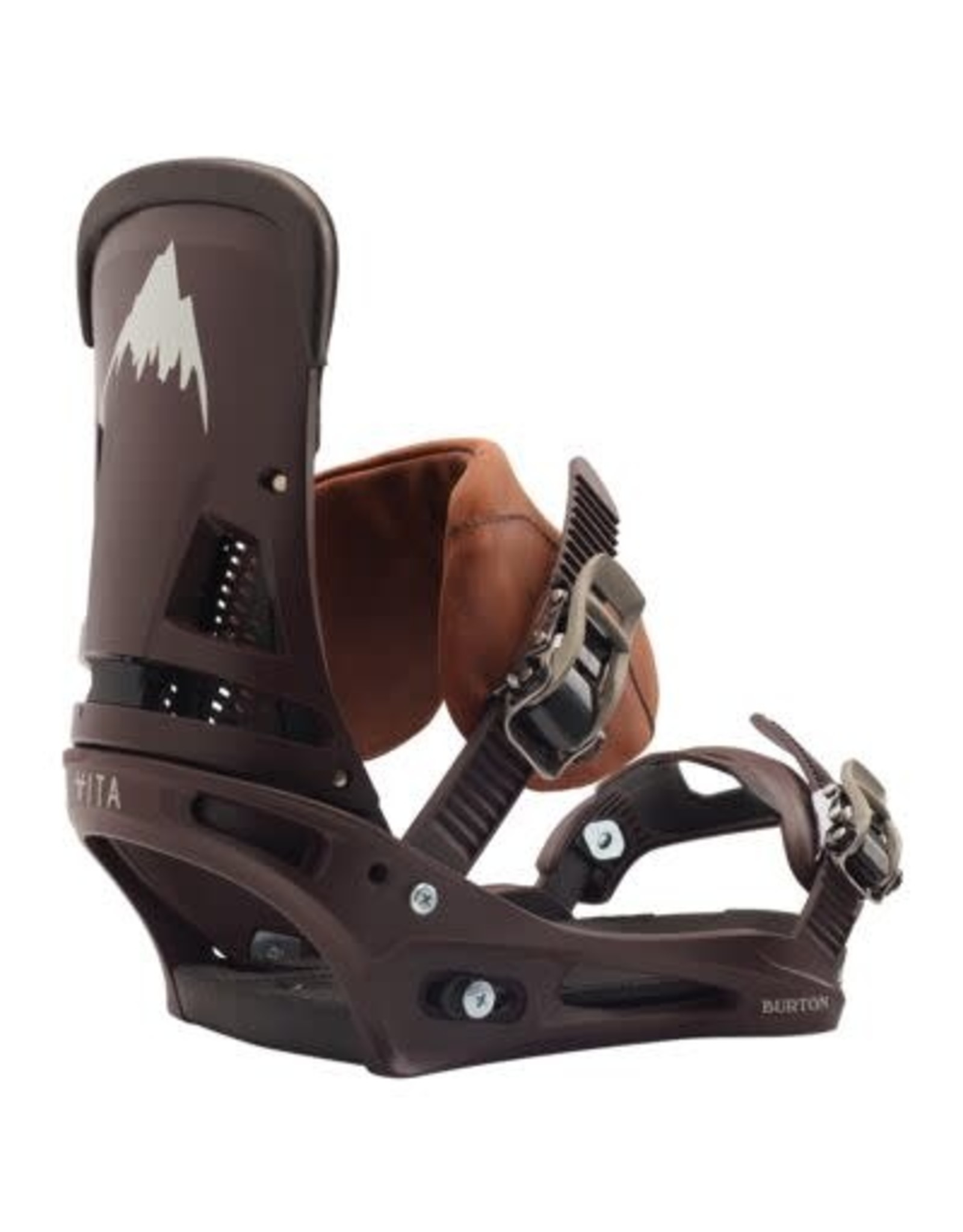 Burton Men's  Malavita Re:Flex Leather Snowboard Binding