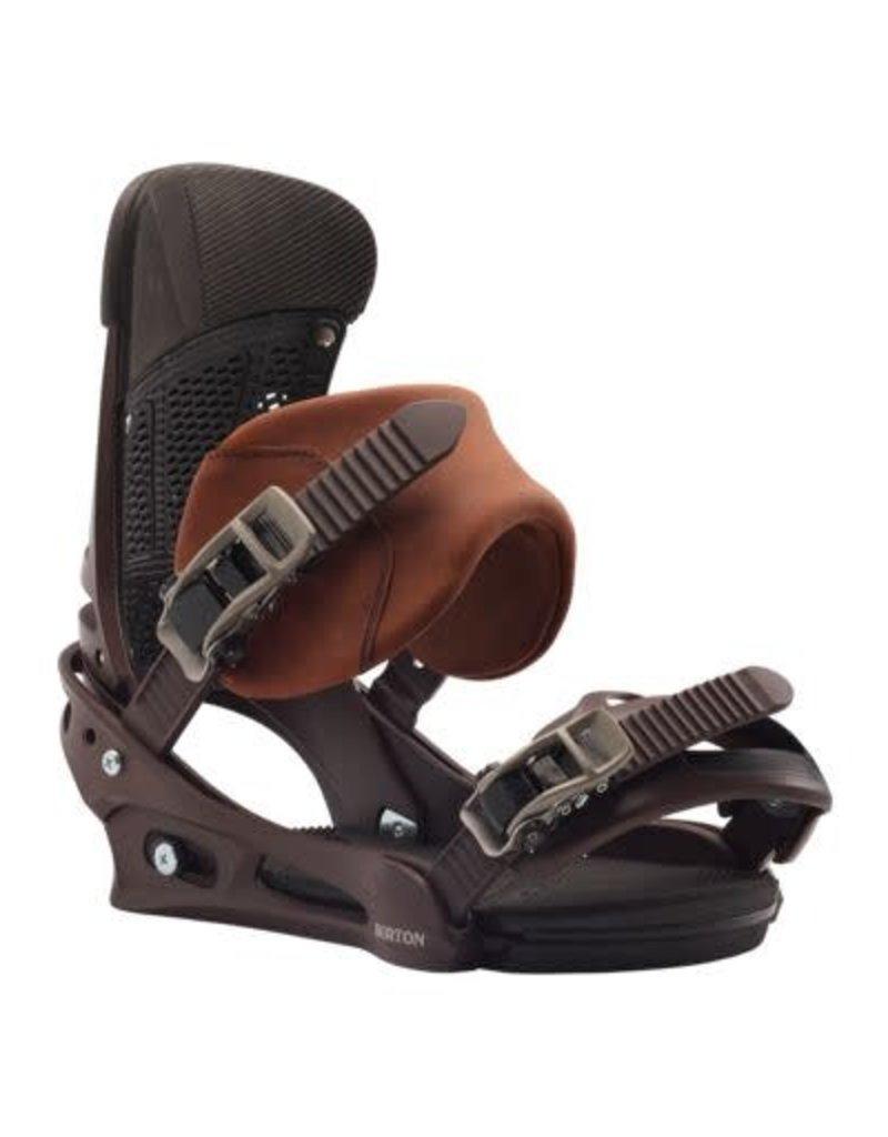 Burton Men's  Malavita Re:Flex Leather Snowboard Binding