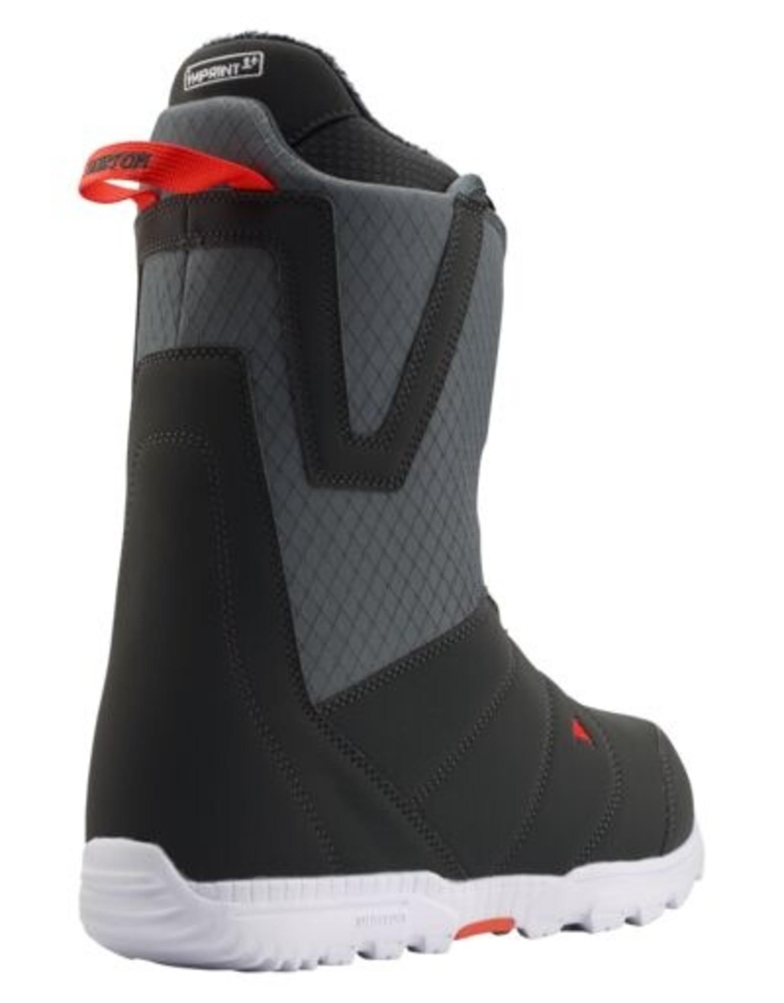 Burton Men's Moto Boa® Snowboard Boot - Gray/Red