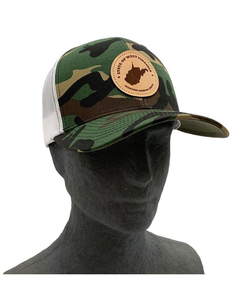 Pathfinder Mesh Back Trucker Hat [Montani Semper Liberi]