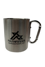 Pathfinder Pathfinder 10 oz. Carabiner Handle SS Mug *HAND WASH*