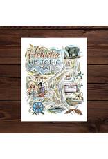 Rosalie Haizlett Assorted Illustrated Maps