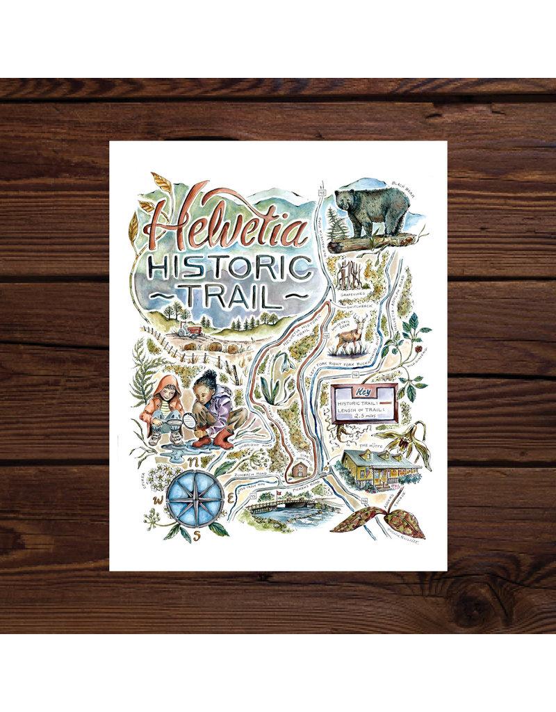 Rosalie Haizlett Illustrated Maps