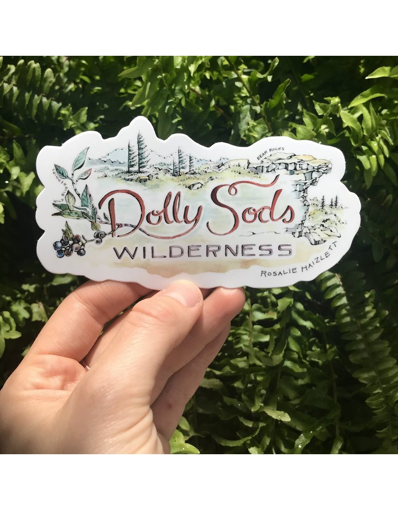 Rosalie Haizlett Waterproof Outdoor Stickers