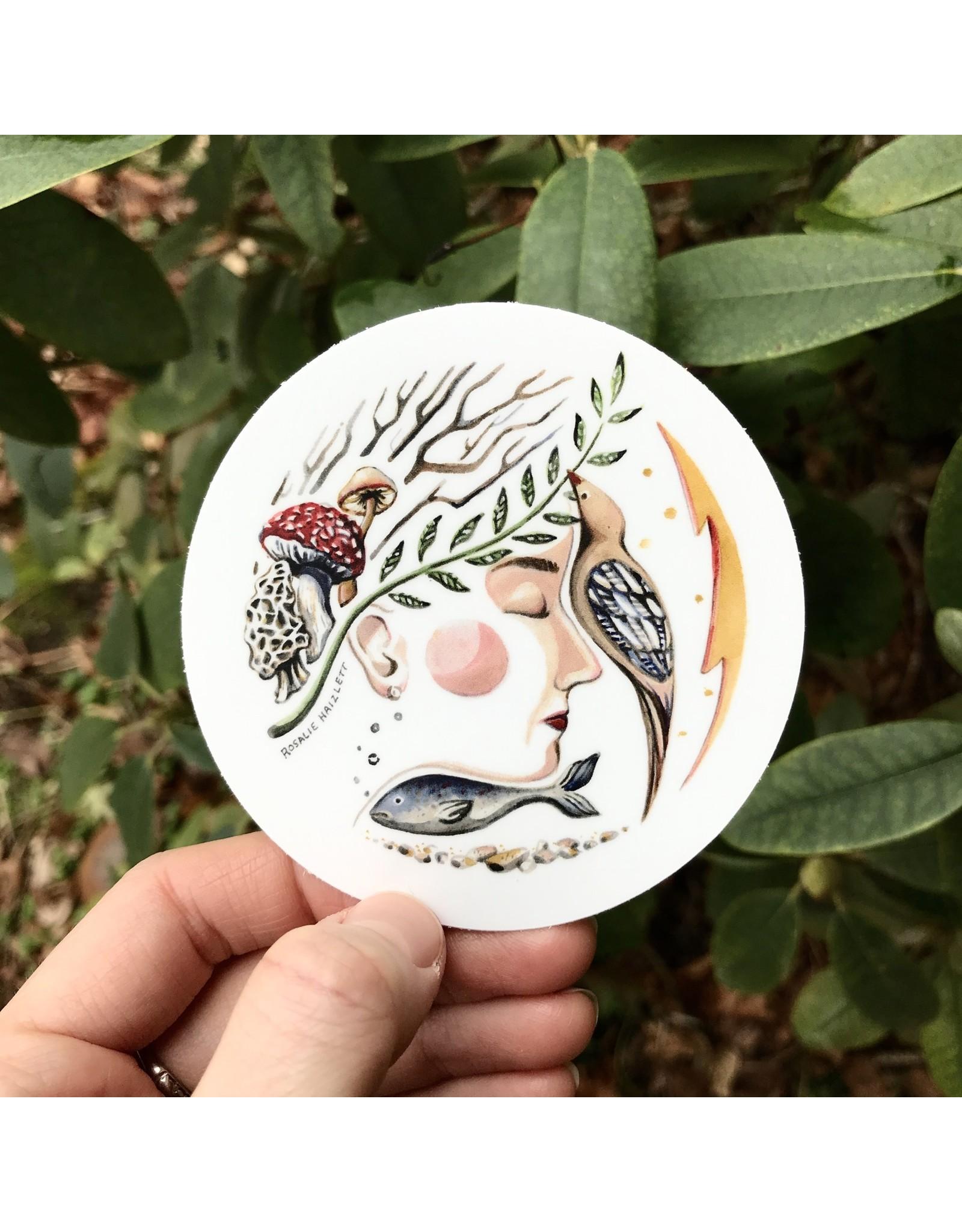 Rosalie Haizlett Waterproof Outdoor Stickers