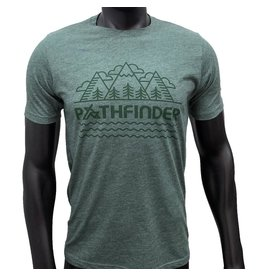 Pathfinder Mountain Poly/Cotton Crew Tee
