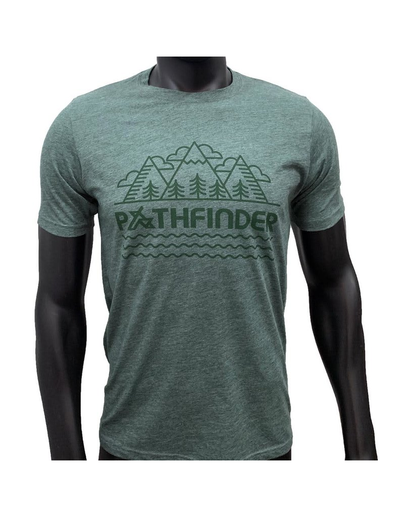 Pathfinder Mountain Poly/Cotton Crew Tee