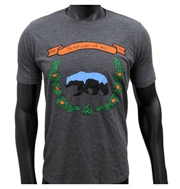 Pathfinder Black Bear Poly/Cotton Crew Tee