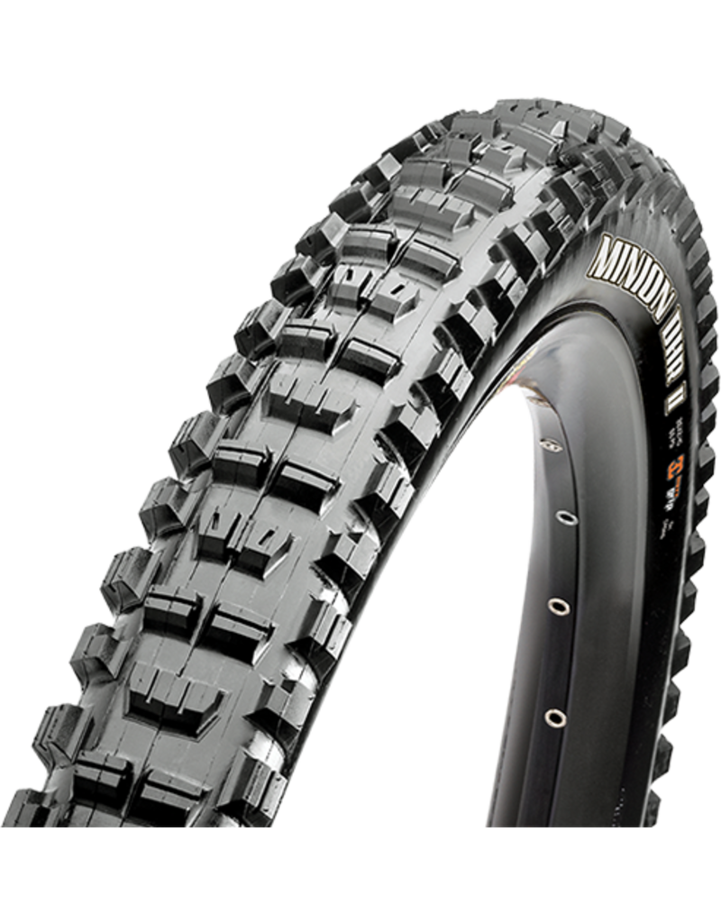 Maxxis Minion DHR II Tire 27.5 x 2.30, Folding, 120tpi, 3C, Double Down, Tubeless Ready, Black