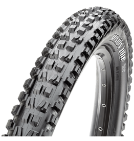 Maxxis Minion DHF Tire 27.5 x 2.50, Folding, 120tpi, 3C MaxxTerra Compound, EXO+ Protection, Tubeless Ready, Wide Trail, Black