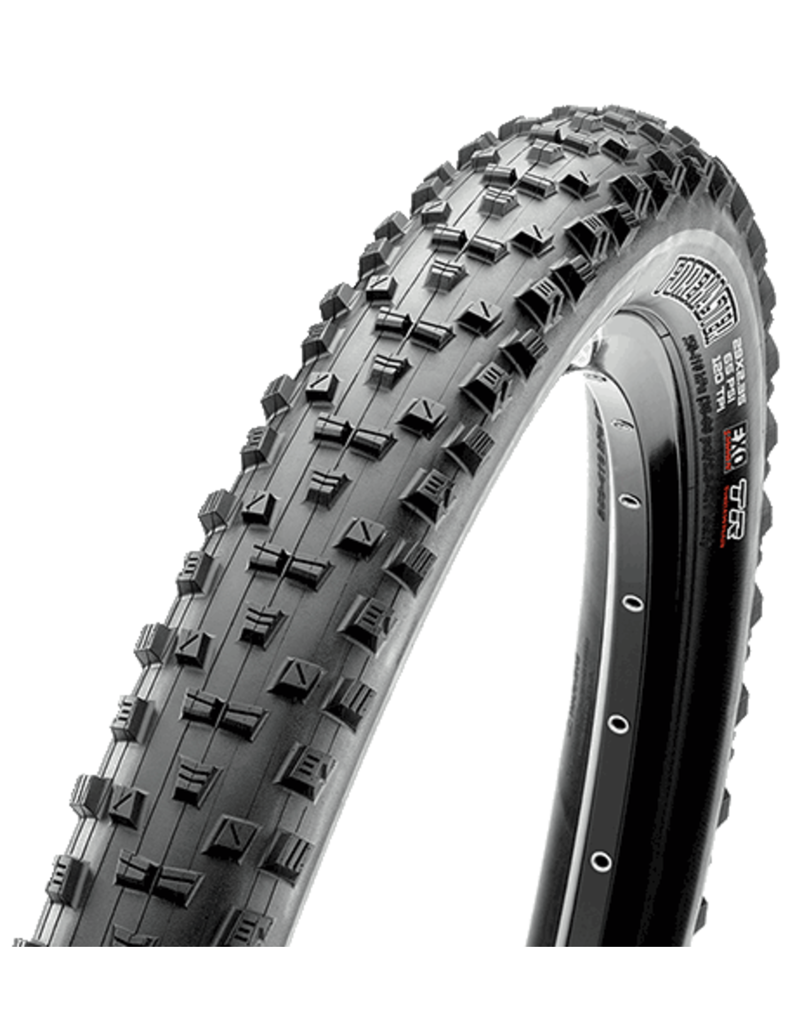 Maxxis Forekaster Tire - 27.5 x 2.6, Tubeless, Folding, Black, Dual, EXO