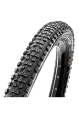 Maxxis Aggressor Tire 29 x 2.50, Folding, 120tpi, Dual Compound, Double Down, Tubeless Ready, Wide Trail, Black
