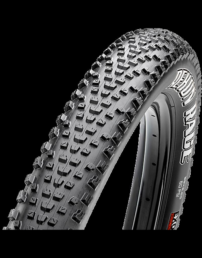Maxxis Rekon Race Tire 29 x 2.25, Folding, 120tpi, Dual Compound, EXO, Tubeless Ready, Black