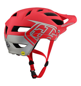 Troy Lee Designs TLD A1 Classic Helmet MIPS RED / SILVER MD/LG