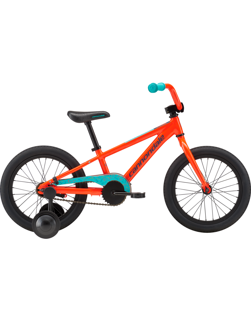 Cannondale Kids Trail 16 SS Acid Red One Size