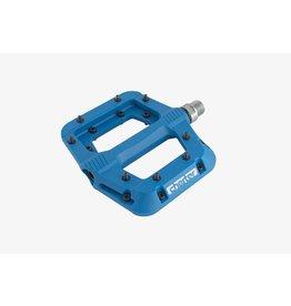 RaceFace Chester Pedals - Platform, Composite, Blue