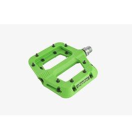 RaceFace Chester Pedals - Platform, Composite, Green