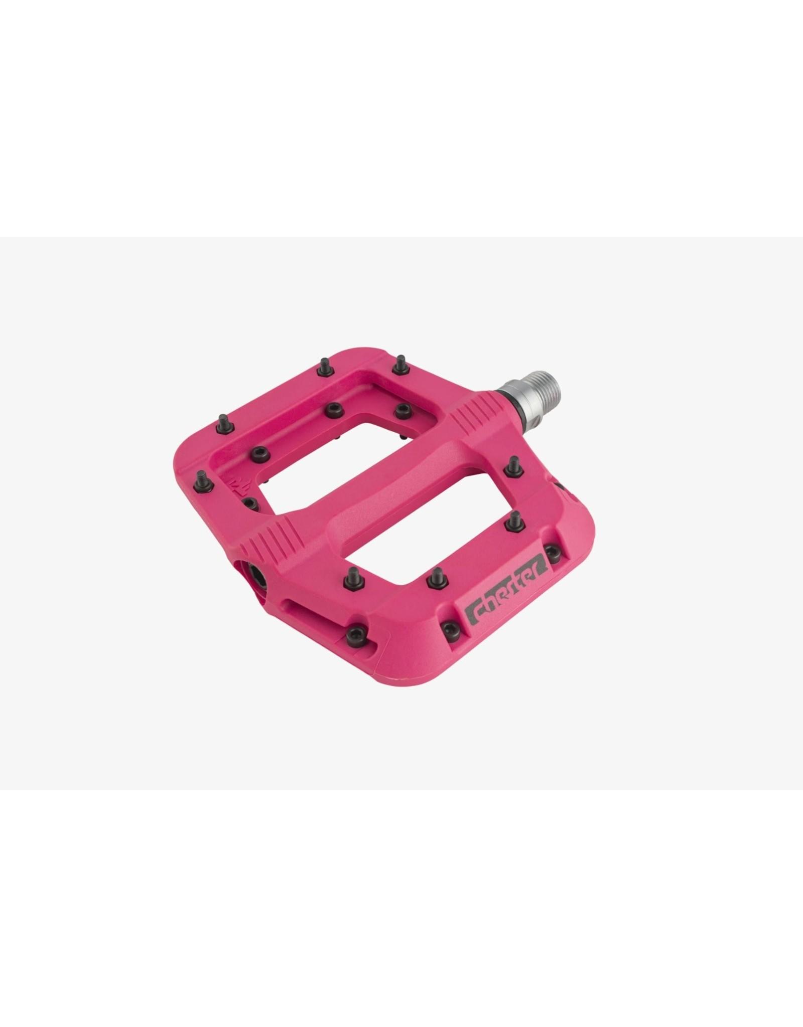 RaceFace Chester Pedals - Platform, Composite, Magenta