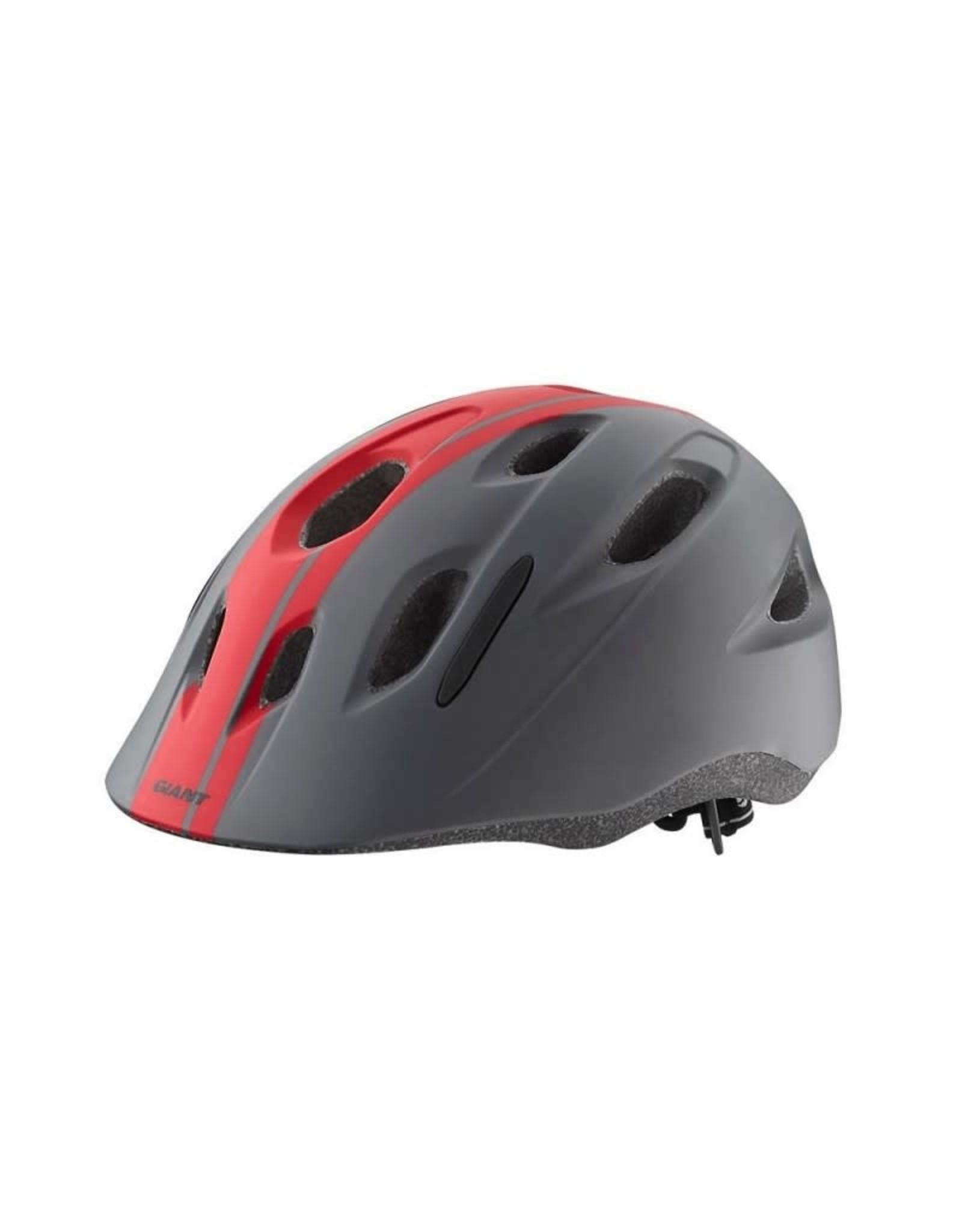 Giant GNT HOOT Youth Helmet Red/Black