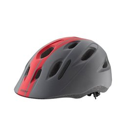 Giant GNT HOOT Youth Helmet Red/Black