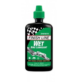 Finish Line WET Bike Chain Lube - 4 fl oz, Drip