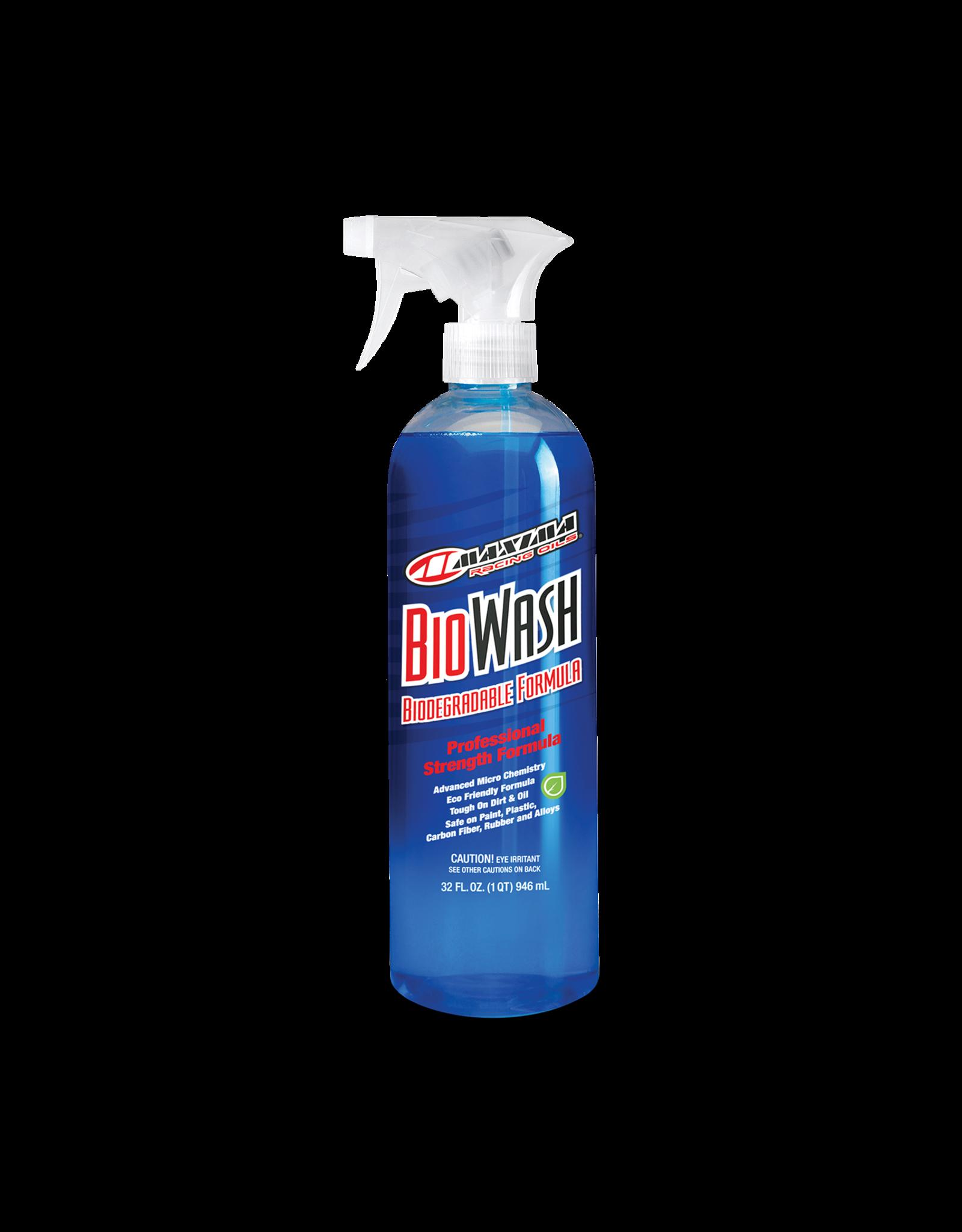 MAXIMA RACING OIL Maxima Bio Wash, 32oz Spray Bottle