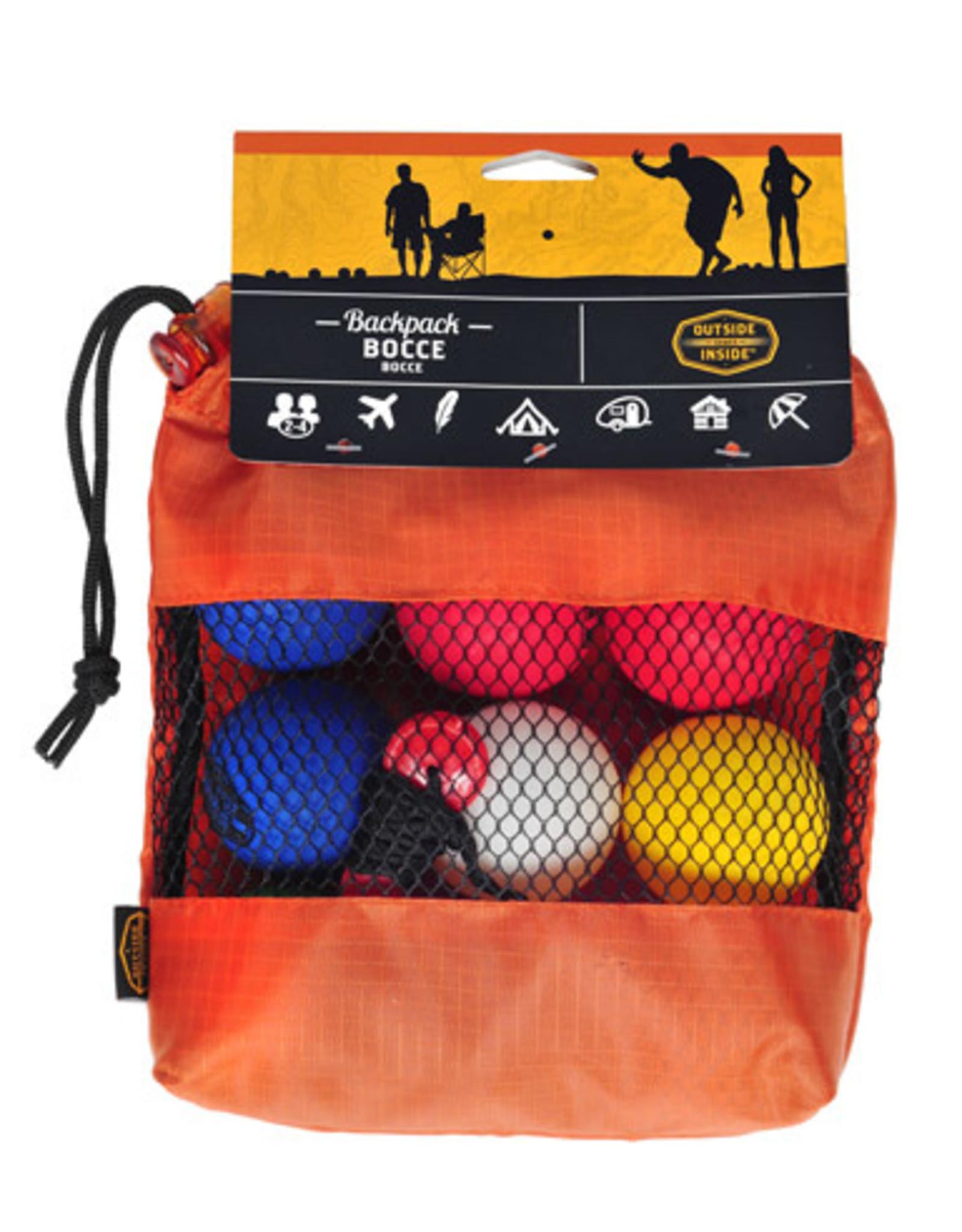 OUTSIDE INSIDE Backpack Bocce
