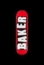 Baker Brand Logo Deck Red/Wht - 8.125