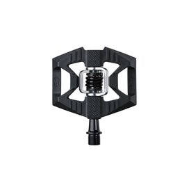 Crank Brothers Double Shot 1 Pedals - Clipless with Platform, Composite, Black