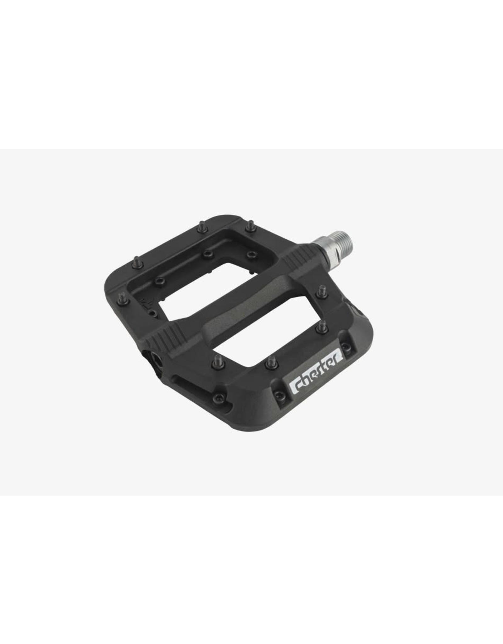 RaceFace Chester Pedals - Platform, Composite,  Black
