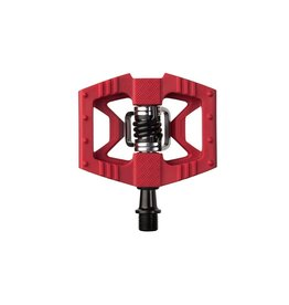 Crank Brothers Double Shot 1 Pedals - Dual Sided Clipless with Platform, Composite, Red