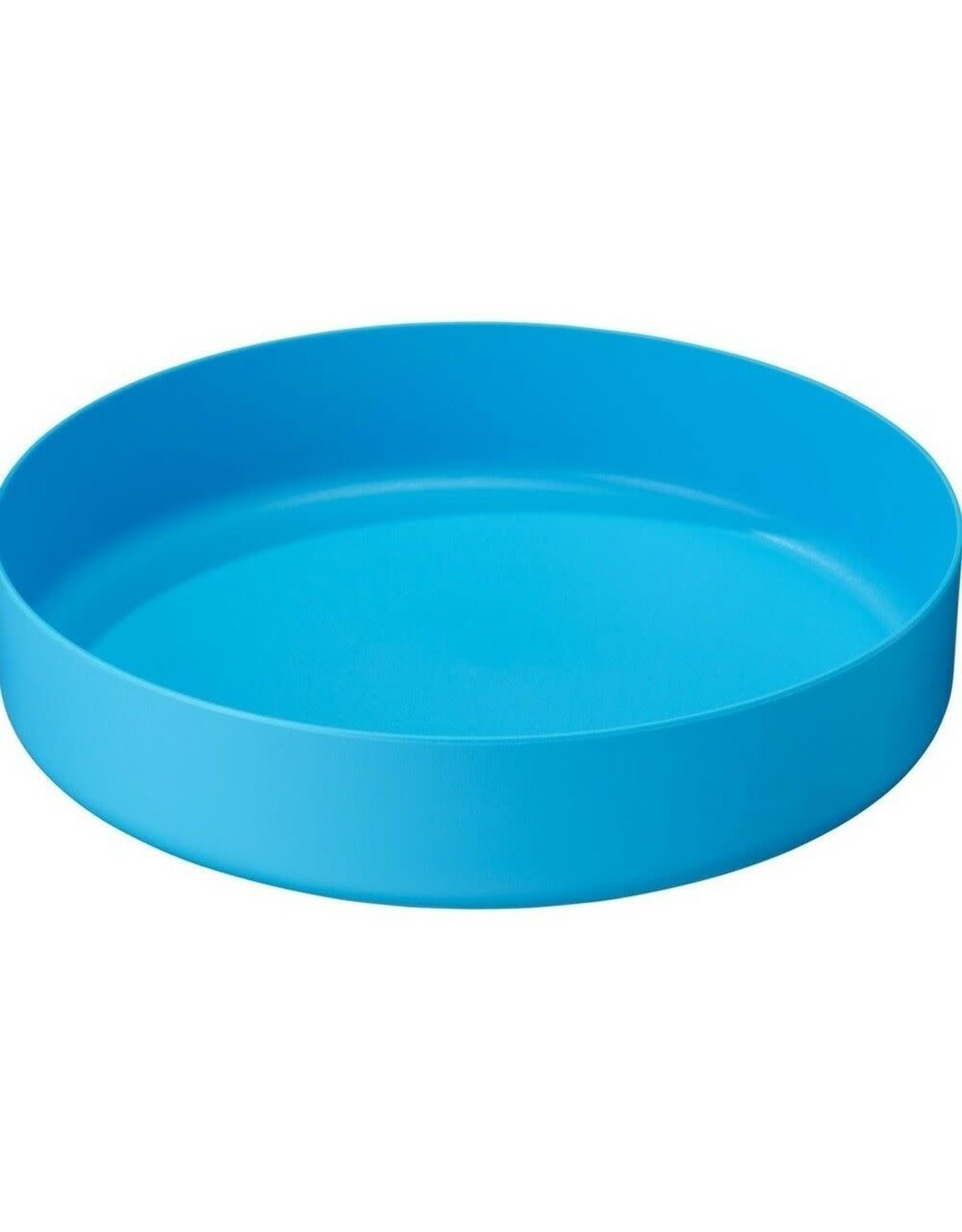 MSR DEEP DISH PLATE MD BLUE