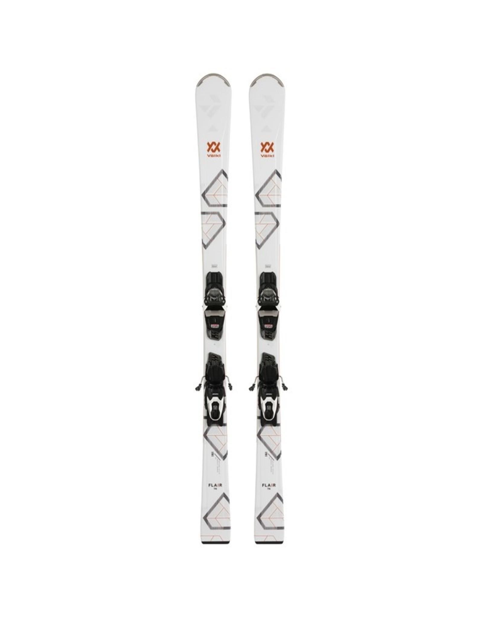 Volkl Women's Flair 76 Ski with VMotion 10 GW Binding