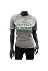 Pathfinder Mountain Poly/Cotton Crew Tee Ash/Green