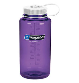 NALGENE Wide Mouth 32oz - Purple w/ White