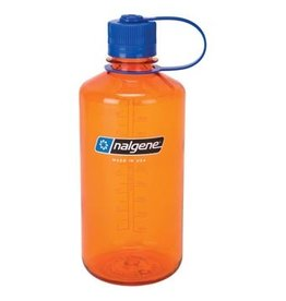 NALGENE Narrow Mouth 32oz - Orange w/ Blue